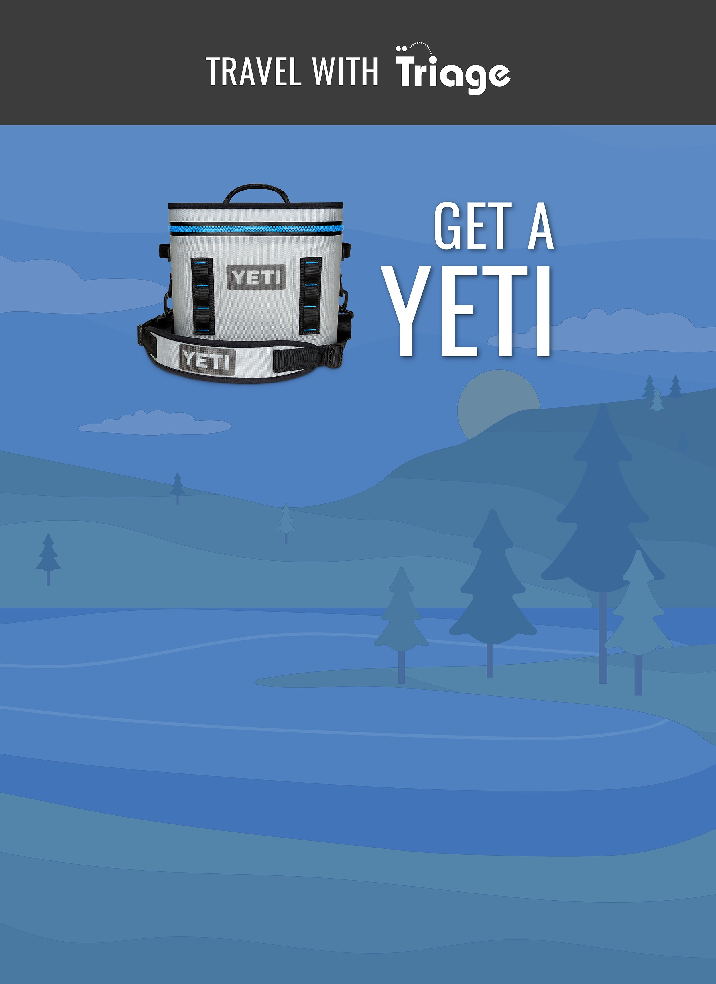 Travel with Triage YETI Giveaway